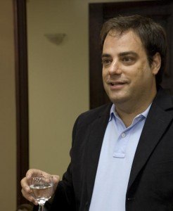 Spolsky Drinking Straight Vodka... L'Chaim